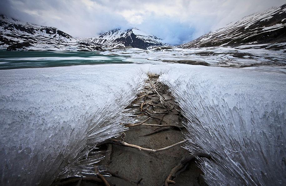 Ледяное царство в объективе