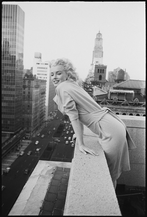 marilyn05 Редкие фото Мэрилин Монро в Нью Йорке