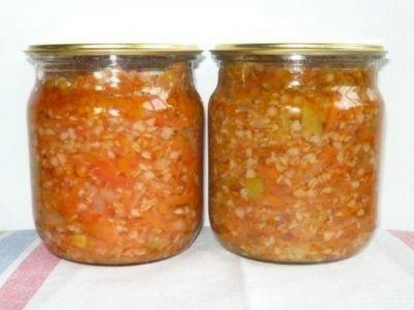 4 замечательных рецепта закрутки на зиму с гречкой, фасолью, перловкой и рисом