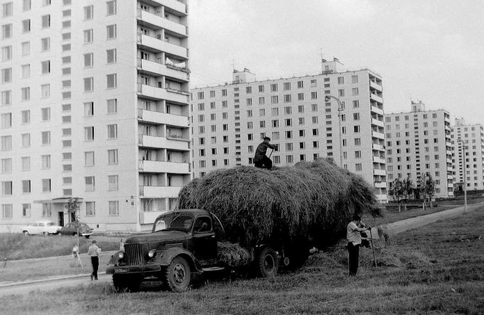 Юго-Запад Москвы в ретро-фотографиях