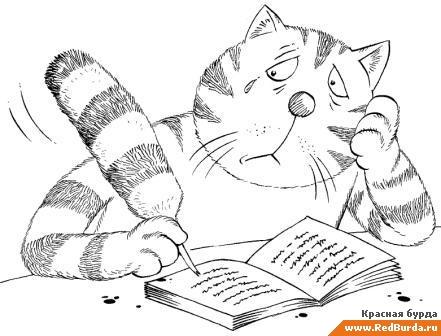 Запись из дневника кота