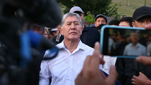 Экс-президент Киргизии Алмаз…