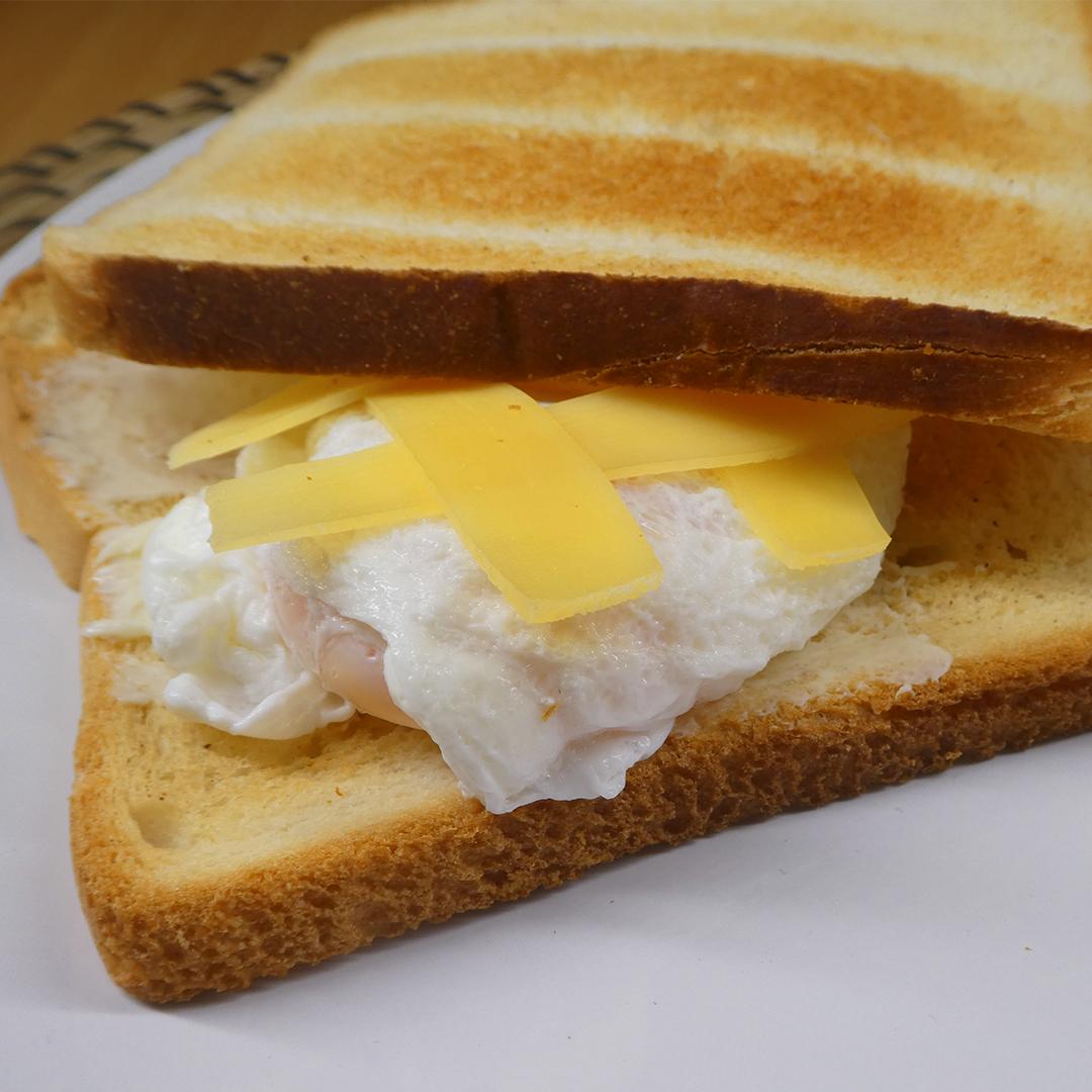Яйцо пашот вкусный завтрак