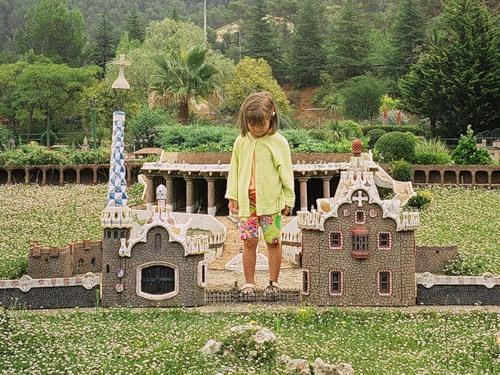 Каталония в миниатюре - Барселона, как на ладони.