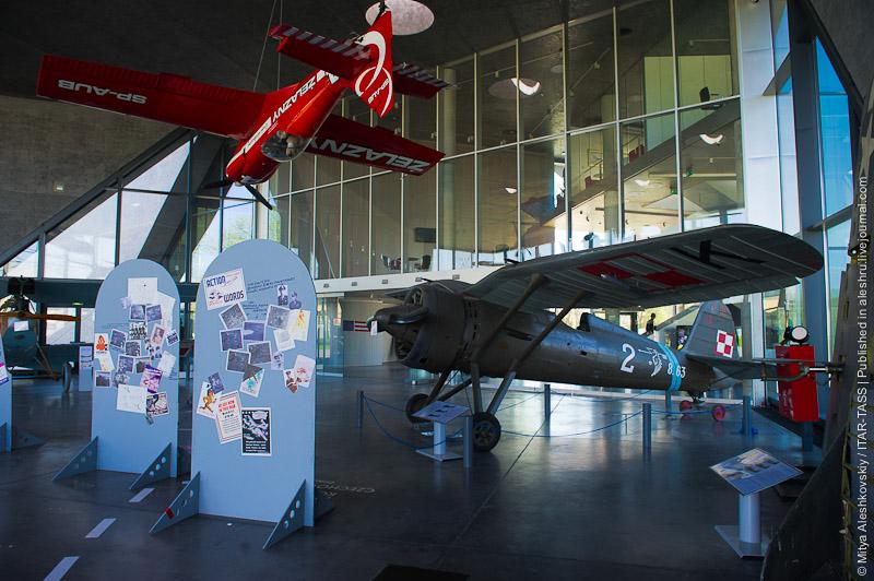 Музей истории польской авиации в Кракове