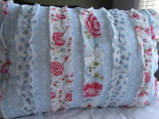 Идеи для творчества - красивые интерьерные подушки