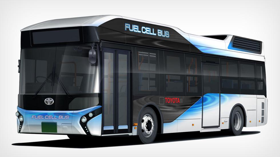 Toyota начнёт продажи водородных автобусов