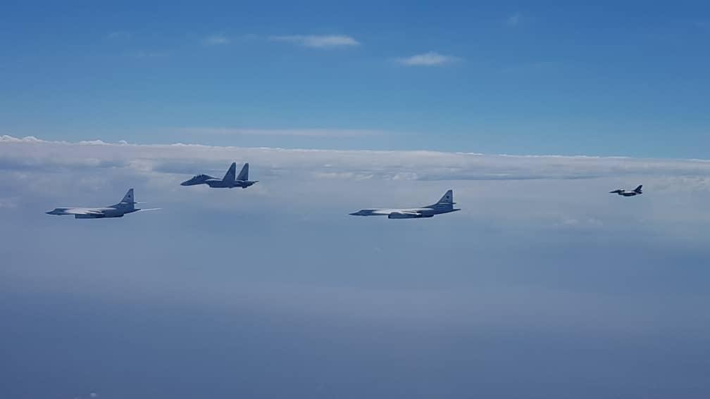 Патрулирование ракетоносцев Ту-160 воздушного пространства Венесуэлы