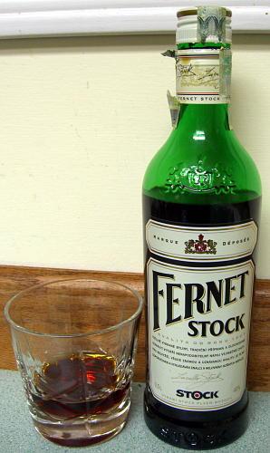 Фернет Шток. Что выпить в Карловых Варах
