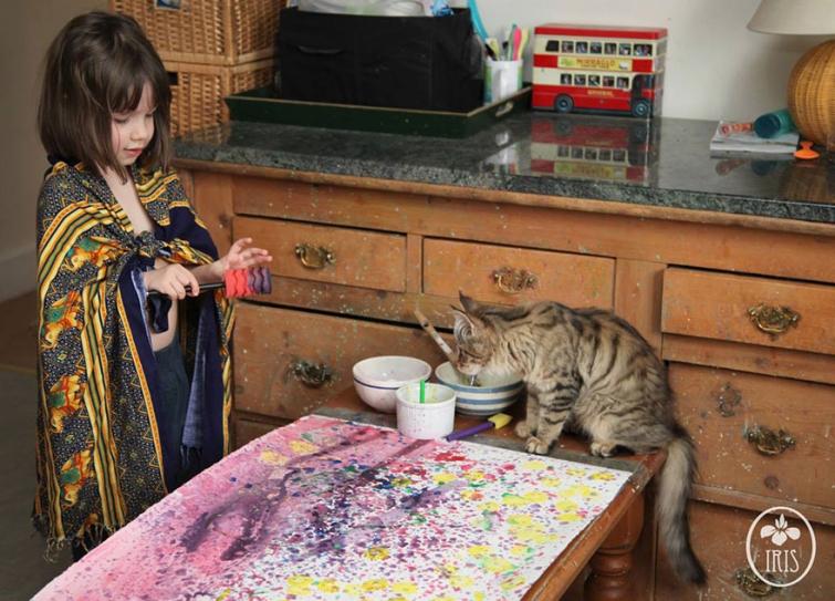 5-летняя художница аутизм,  Ирис Грейс, Iris Grace