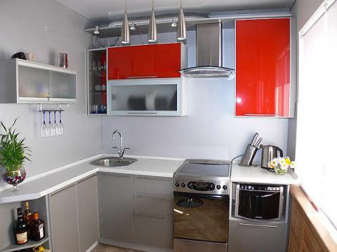 Наши любимые кухни, маленькие и большие