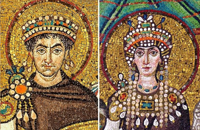 Юстиниан и Феодора: святой император и раскаявшаяся грешница