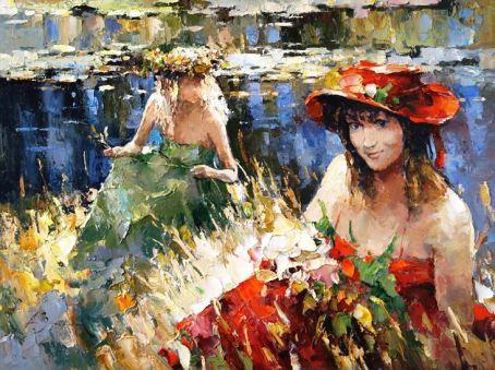 Поэзия женских образов в творчестве Алексея Зайцева