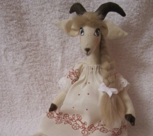 кукла тильда коза 2015  мастер-класс