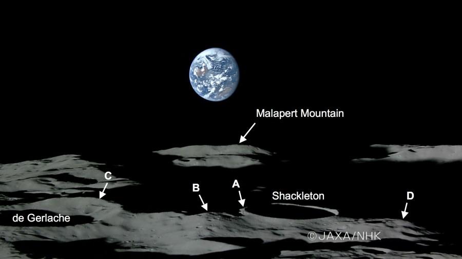 Вечный свет и вечная тьма на Луне