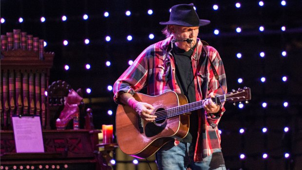 Neil Young and Pearl Jam among headliners at 2014 Bridge School Benefit