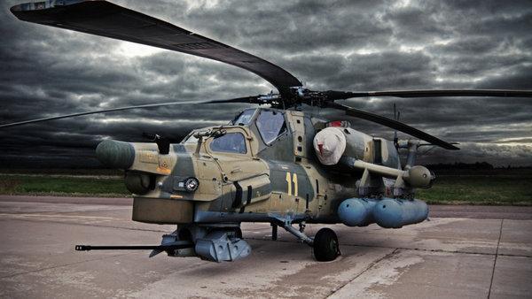 Иностранцы о Ми-28Н: «в первый раз вижу вертолет выполняющий такие фигуры высшего пилотажа»