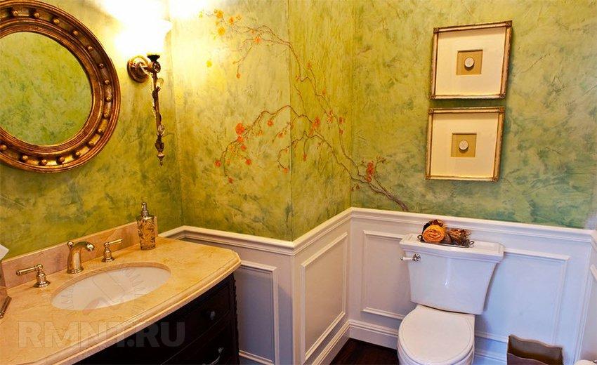 Декоративная штукатурка в ванную комнату своими руками