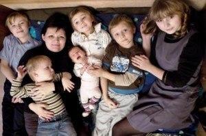Хитрости быта МНОГОДЕТНОЙ (6 детей!!!) матери.