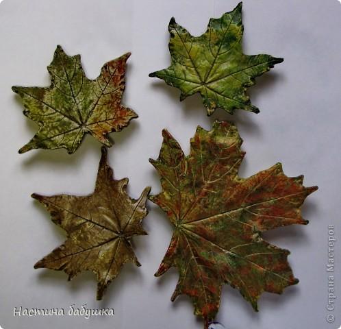 Изготовление отливок листьев своими руками