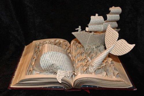 Искусство из книг