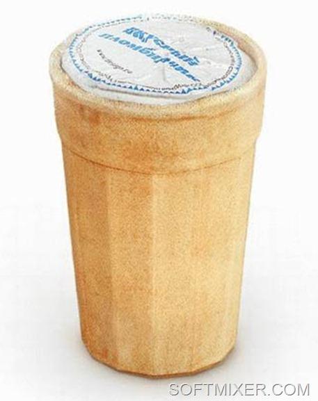 В каком годв стаканчик мороженого стоил 200 рублей