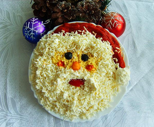 Как оформить новогодние блюда. Лучшие идеи