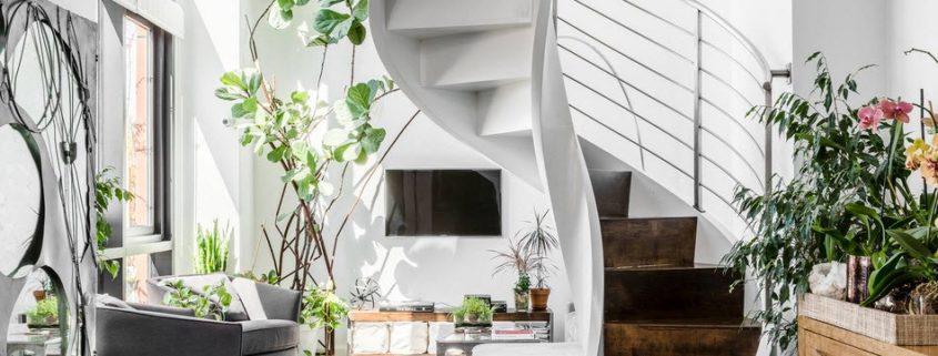 Винтовая лестница: грациозны…