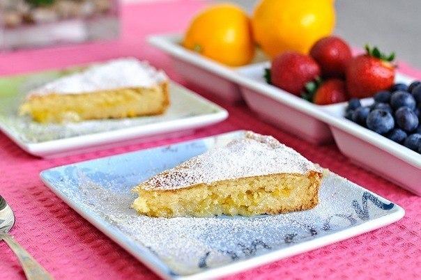 Лимонный пирог - очень вкусный и красивый пирог на все случаи жизни.
