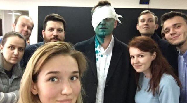 Навальный и Бабченко: Зелёный марш «людей первого сорта»