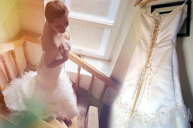 «Она отсудила у меня квартиру, а я продаю ее свадебное платье»