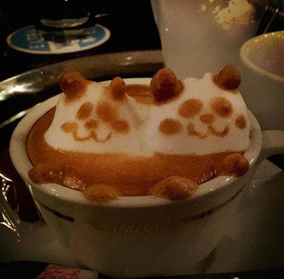 Кофейный арт Казуки Ямамото 21650