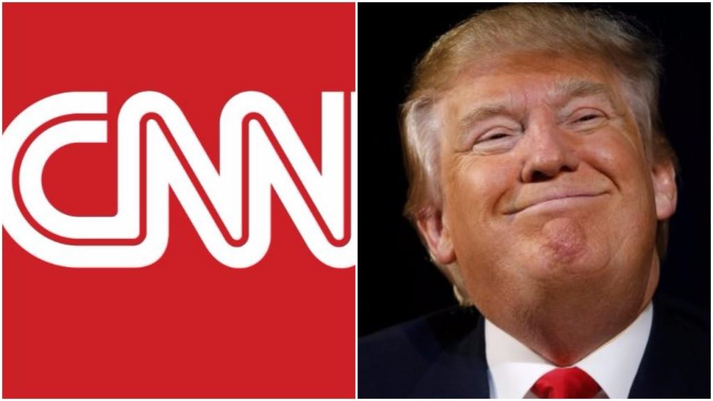 В CNN прокомментировали обвинения Трампа в публикации «фейковых новостей»