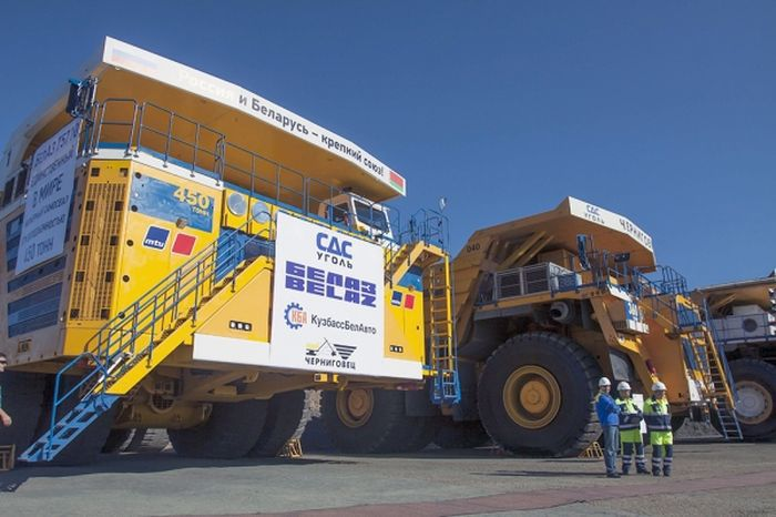 In Siberia, experienced the biggest dump in the world 75710, auto, BelAZ, testing