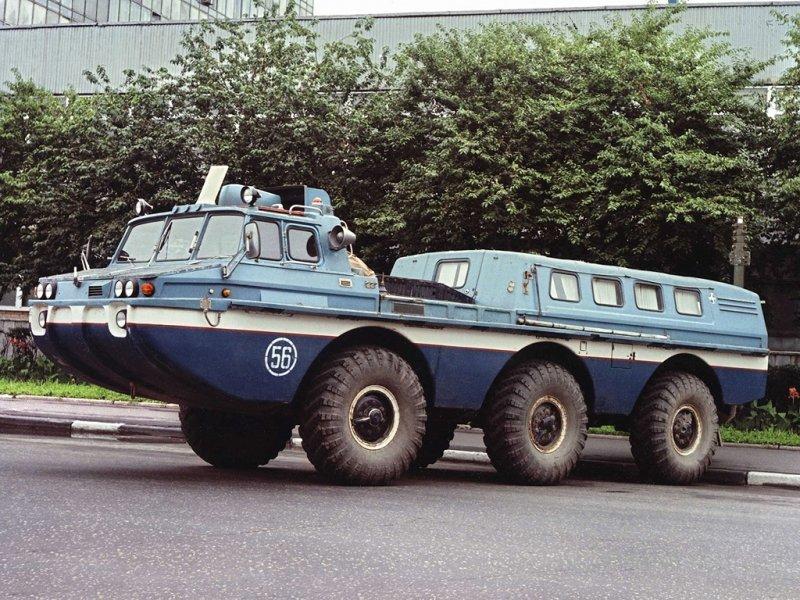 Самые удивительные машины великой советской марки ЗиЛ