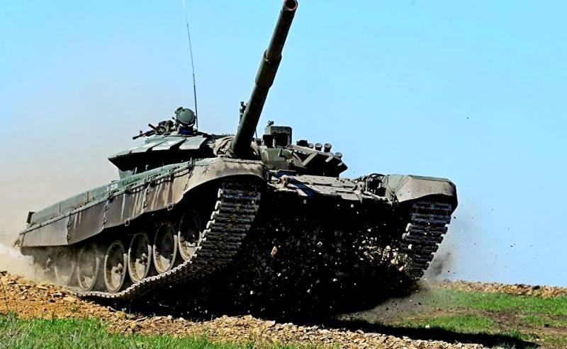 Уральские танкостроители испытывают новую модификацию Т-72