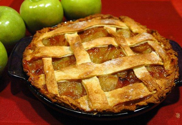 На фото Википедии один из немногих советов, как сохранить яблоки.