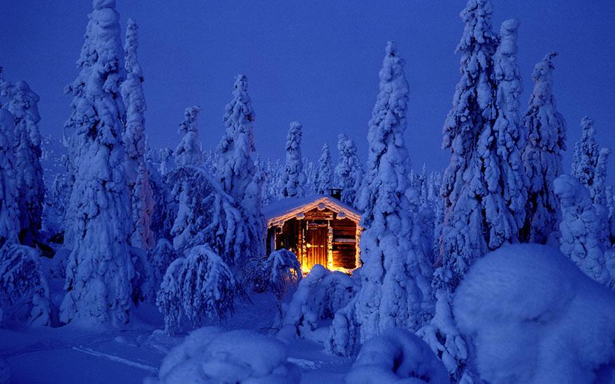 Сказочная Лапландия. Есть ли на свете другое место, больше похожее на новогоднюю сказку?