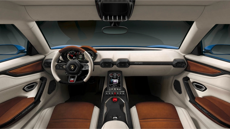 Lamborghini Asterion: гибридный суперкар мощностью 910 лошадиных сил