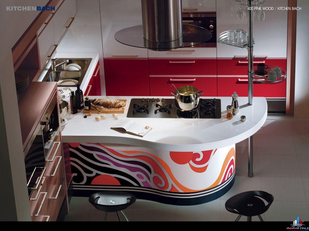 Простой интерьер кухни – жилища приготовления пищи
