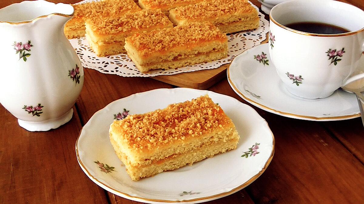 Песочные Пирожные из детства! Очень нежные и вкусные!