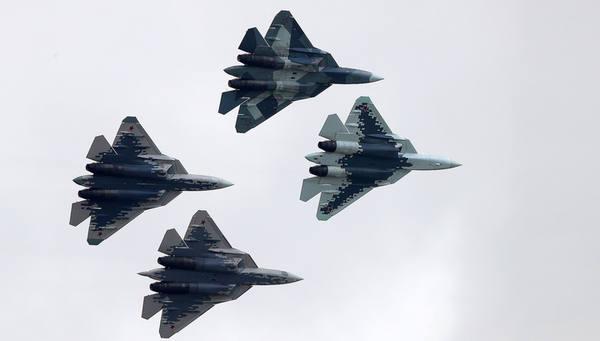 Экспортный Су-57 покажут на авиасалоне в Дубае