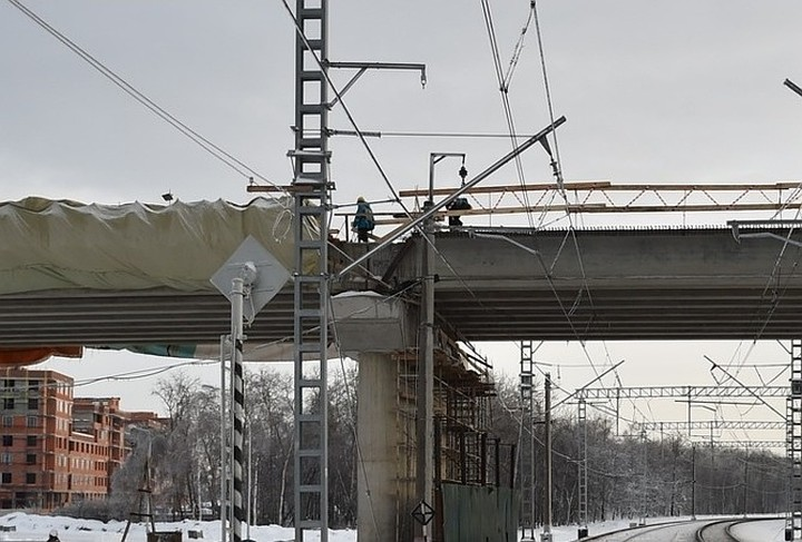 На Дмитровском путепроводе проведут реконструкцию