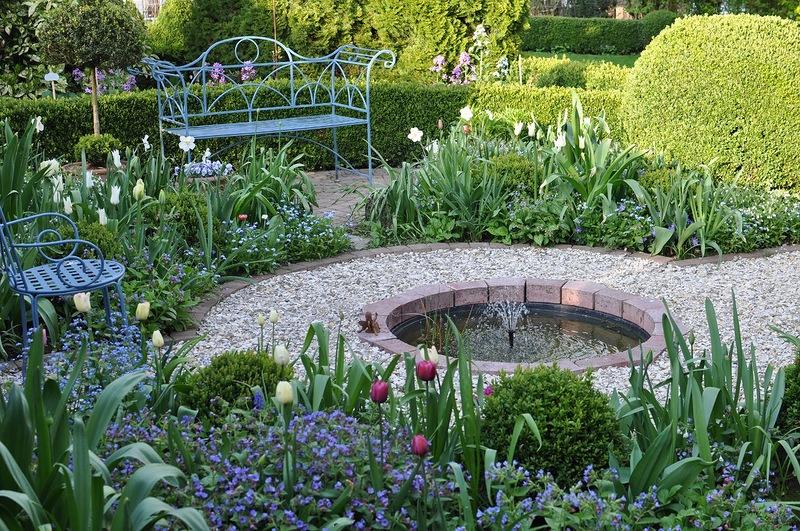 Красивый уголок сада своими руками 43