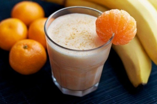 Энергетический смузи из мандаринов