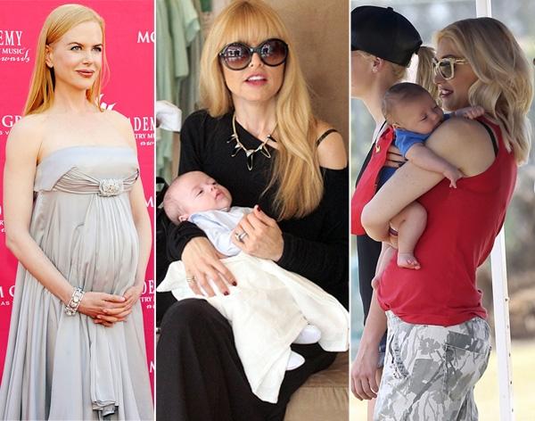 Знаменитости, ставшие мамами после 40 лет