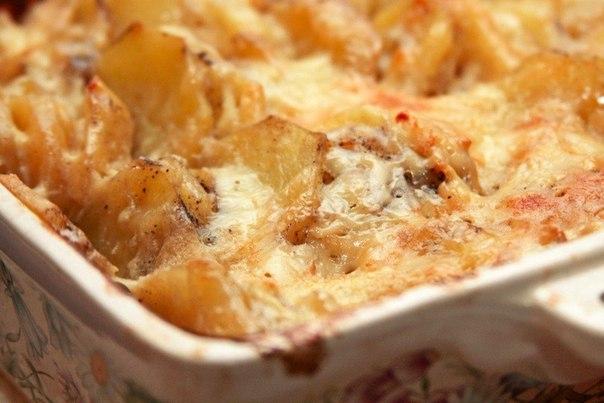 Картофельная запеканка по-французски: нежное и ароматное блюдо. Готовится в один миг!