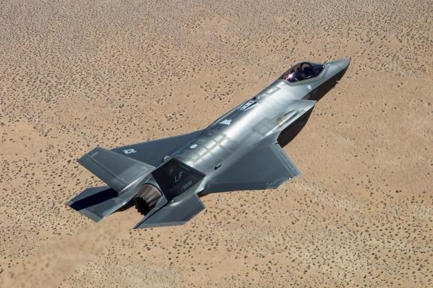 Американские F-35 промахнулись по учебным целям на 10-15 метров