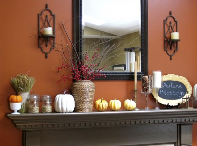 Меняем интерьер к осени — простые советы