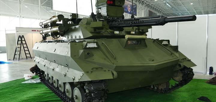 Россия испытала в Сирии боевых роботов